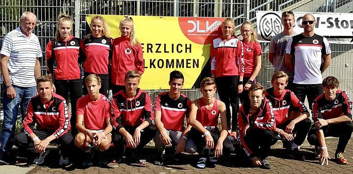 Das DSC-U16-Team in Bochum-Wattenscheid. Foto: DSC