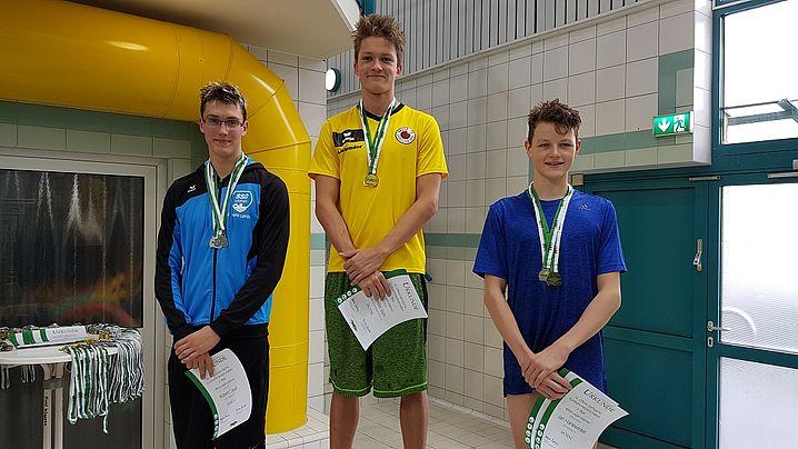 Alexander Eich siegte klar über 400m Lagen. (c)Foto:Oehme