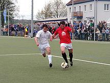 Christian Heinrich (rechts) erzielte das 1:2 für den DSC