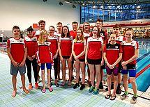 Unsere Schwimmer in Mainz. Foto:DSC1898