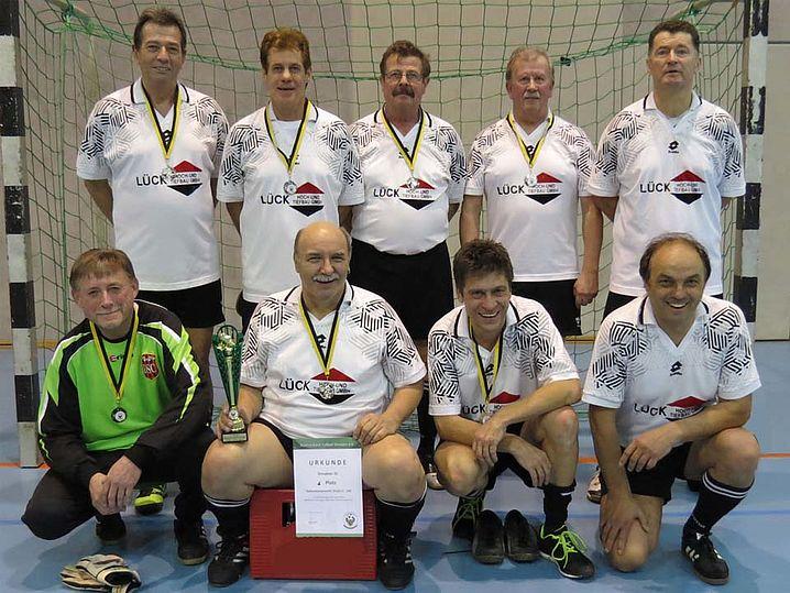 Foto von der erfolgreichen Hallenstadtmeisterschaft 2015