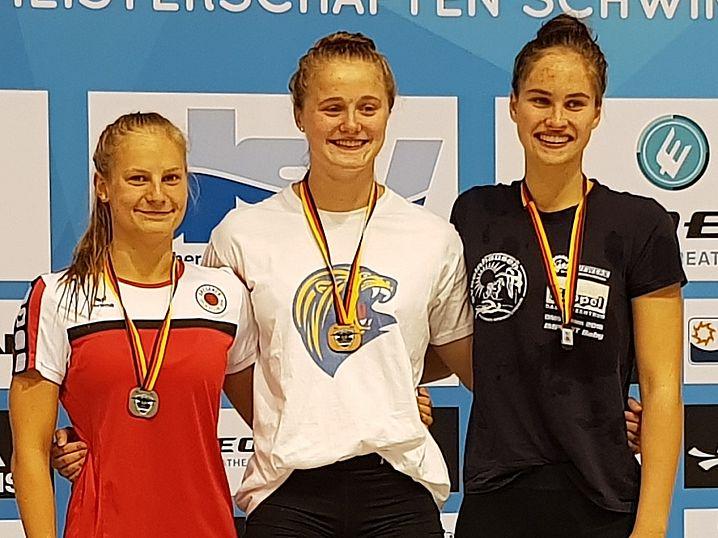 100m-F-Silber für Alexandra Arlt. (c)Foto:Oehme