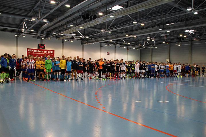 Teilnehmerfeld der D-Junioren