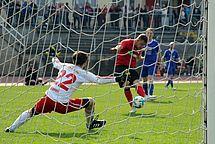 Franz Rösner erzielt bei seinem Comeback das 5:0
