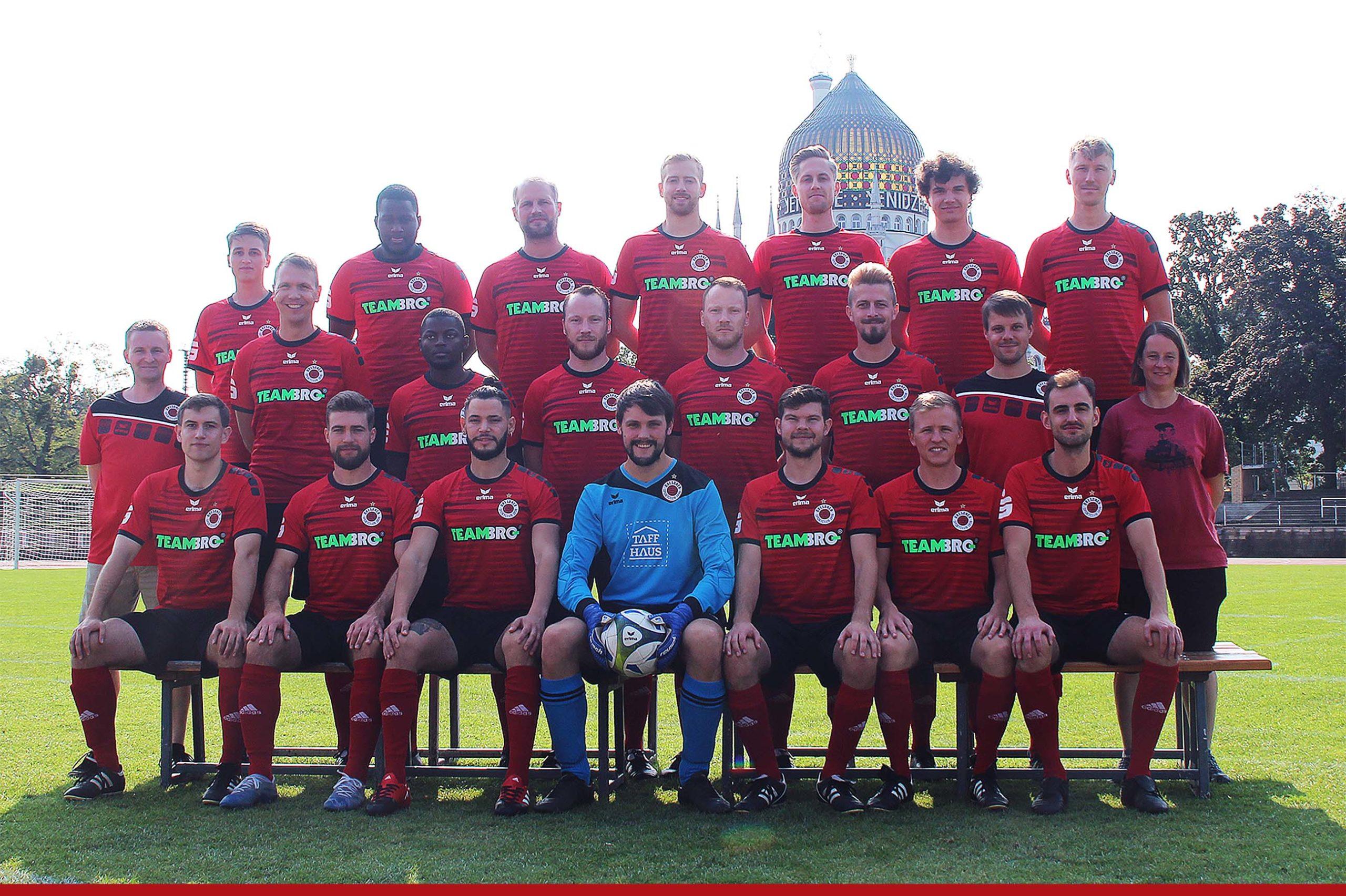 Mannschaftsfoto Dresdner SC 1898 2. Mannschaft Saison 2021/22