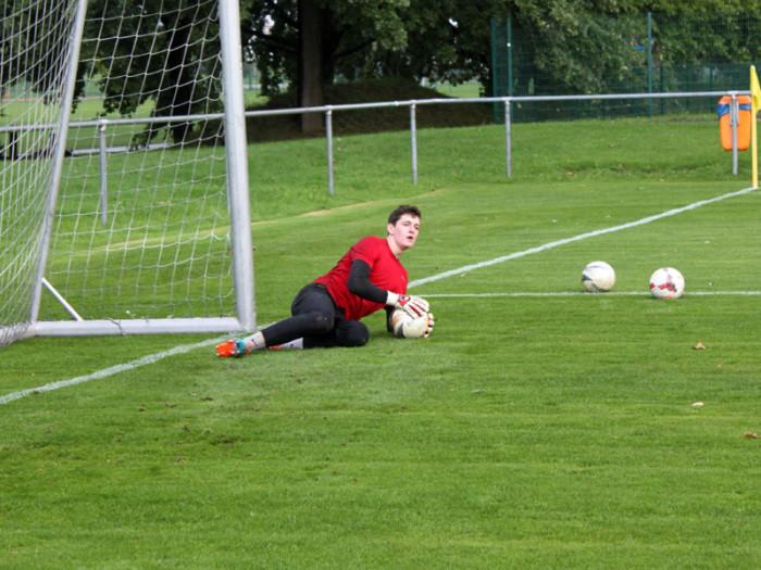 Neuzugang Dario Arndt beim Training