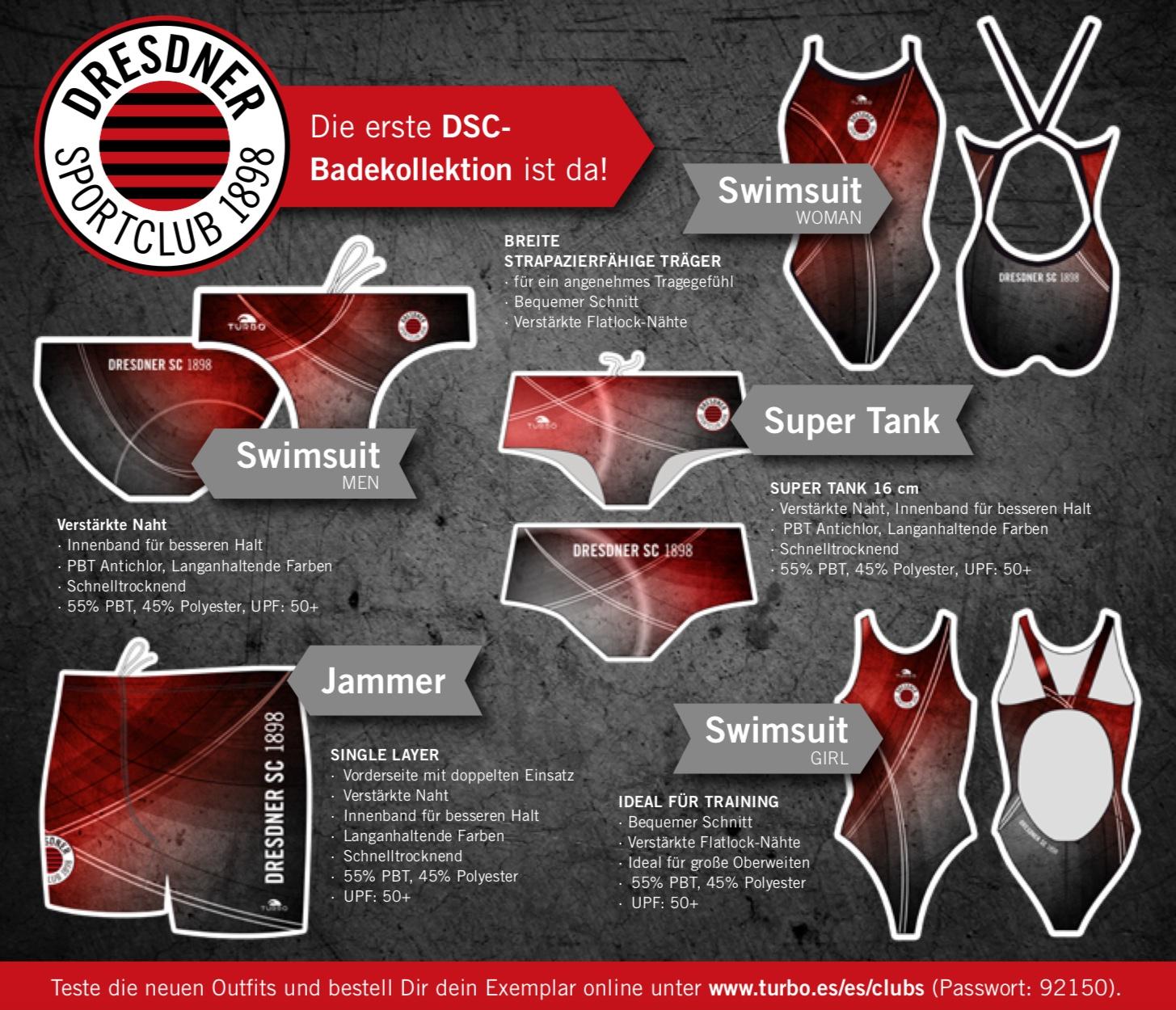 Unsere neue Schwimmkollektion von TURBO