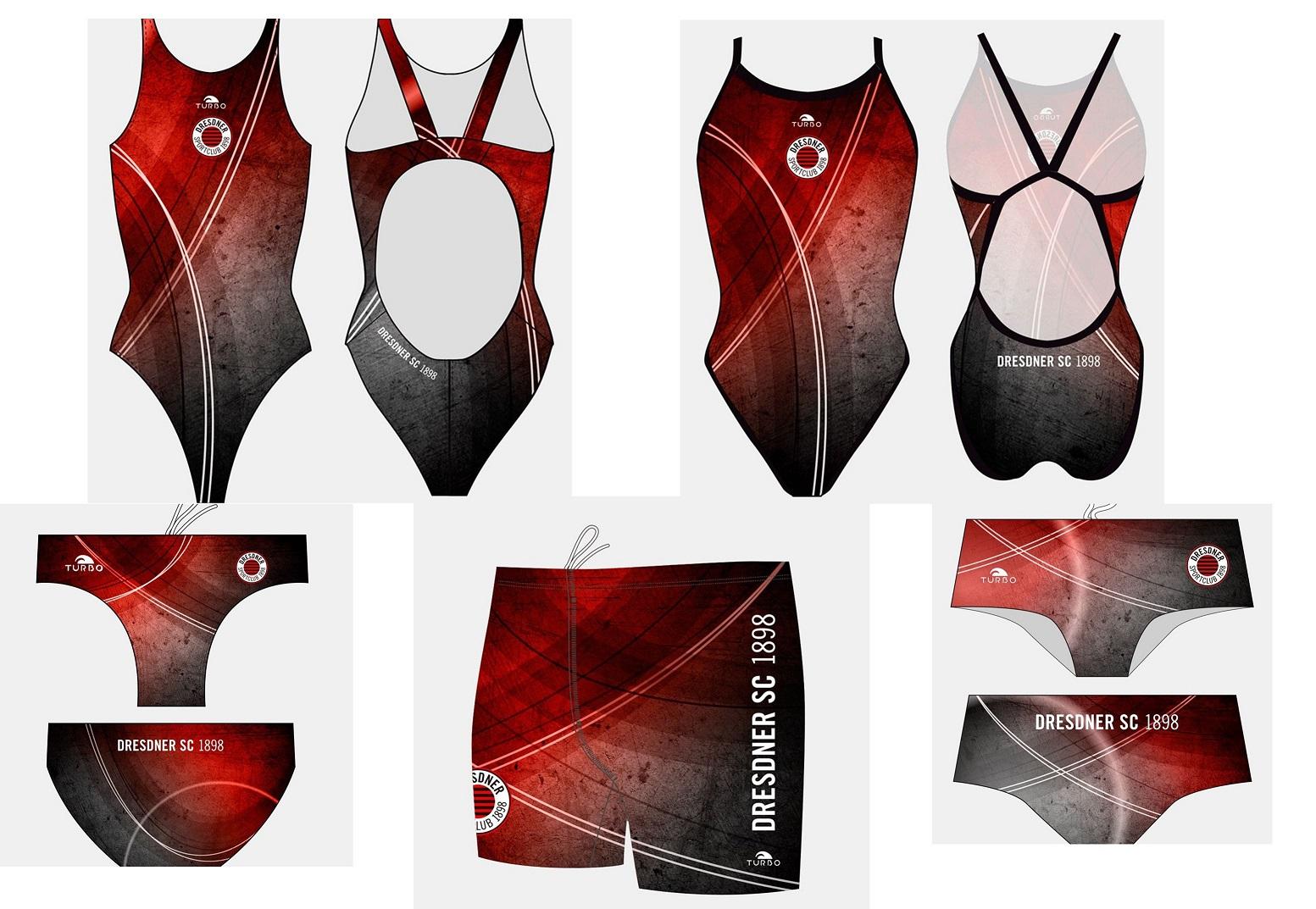 Unserer neue Schwimmerkollektion von TURBO.
