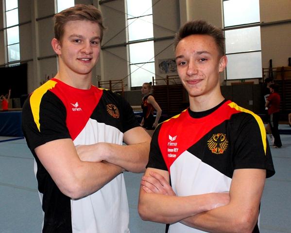 Tim und Michail führen das deutsche EM-Team an. Foto: Hofmann