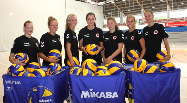 Trainingsauftakt in der Margon Arena. Copyright: DSC 1898 Volleyball GmbH