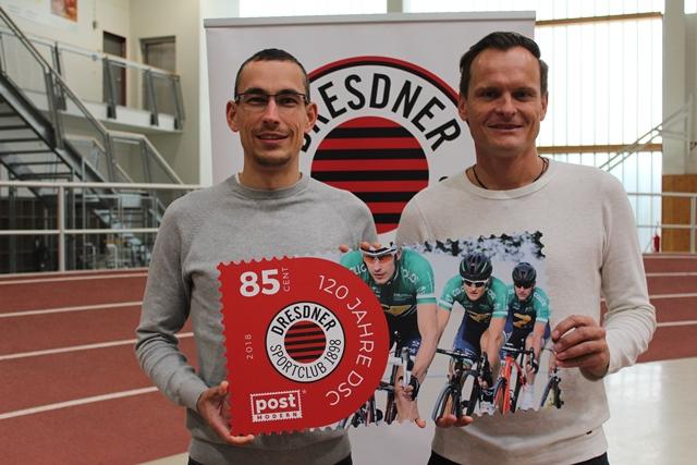 Uwe Hartmann und Rene Obst für Radsport