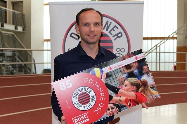 Jan Mikulla für Volleyball (DSC-Geschäftsführer)