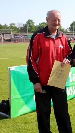 Olaf Opitz unterstützt den Verein bereits seit 1991.